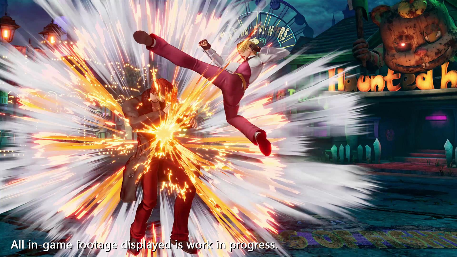 《拳皇15》新角色「琼」宣传影像公布