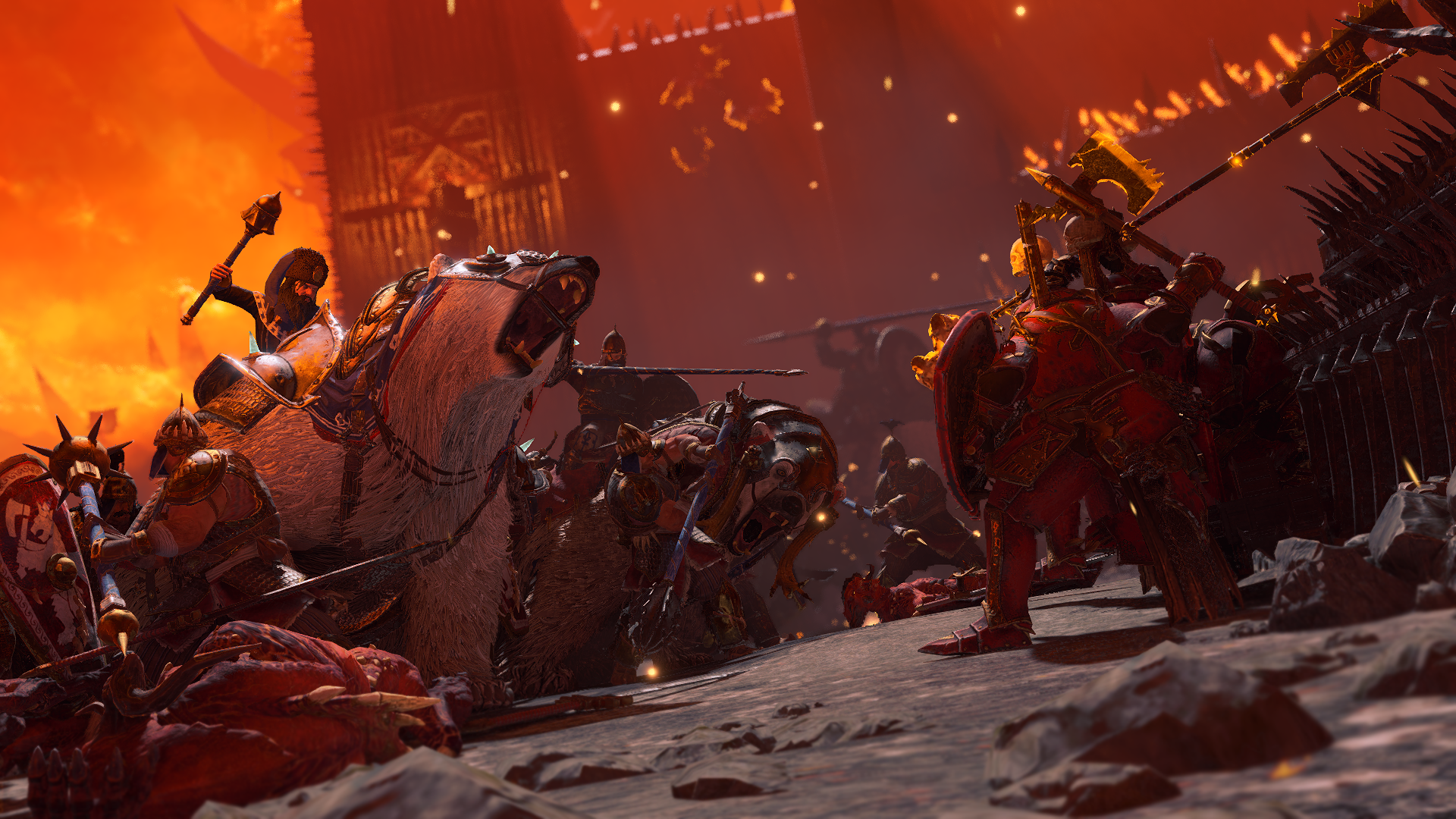《战锤 全面战争3》公开全新宣传片及实机演示