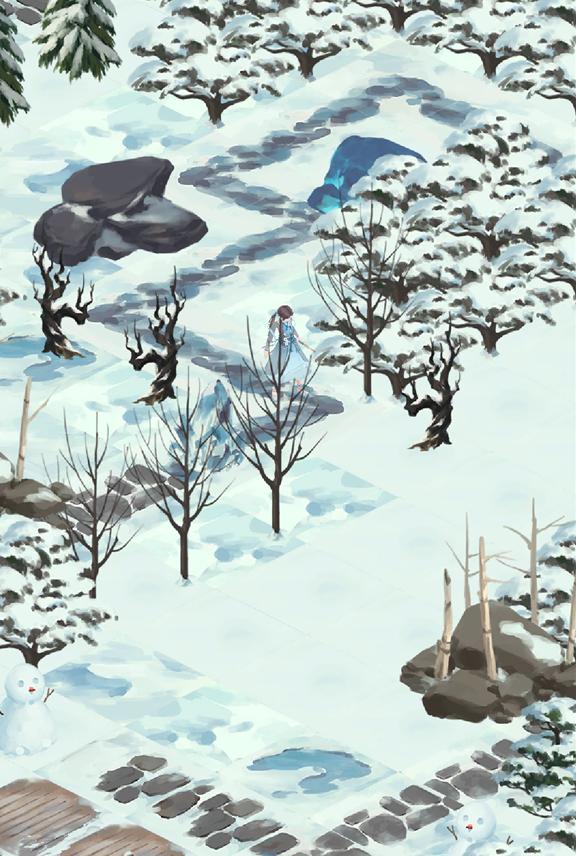 《江湖悠悠》黄粱村雪球获取位置介绍