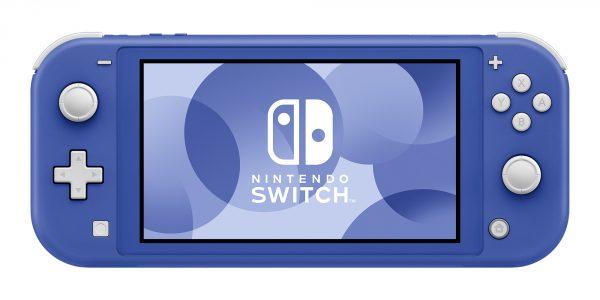任天堂蓝色Switch Lite公开5月21日发售!