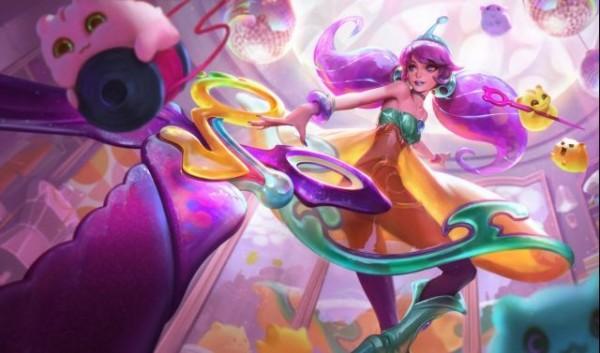 英雄联盟11.8版本更新内容:新英雄灵罗娃娃格温上线!